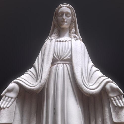 Nuestra Señora Milagrosa 3D Statue
