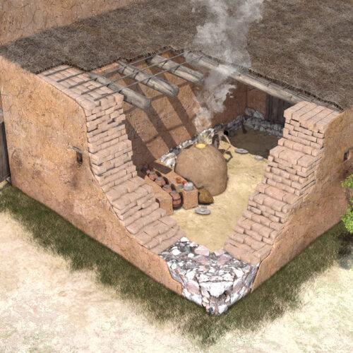 Iberian granary of Alarcos