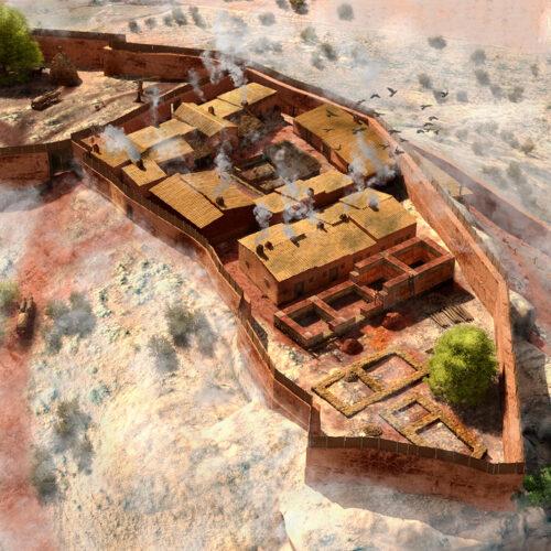 Poblado fortificado del Castillón