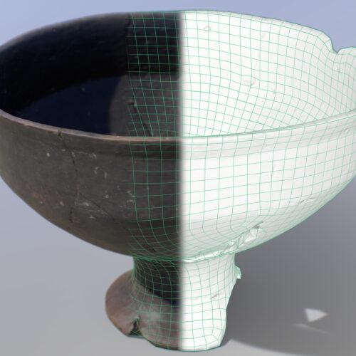 Digitalización 3D piezas – Alarcos