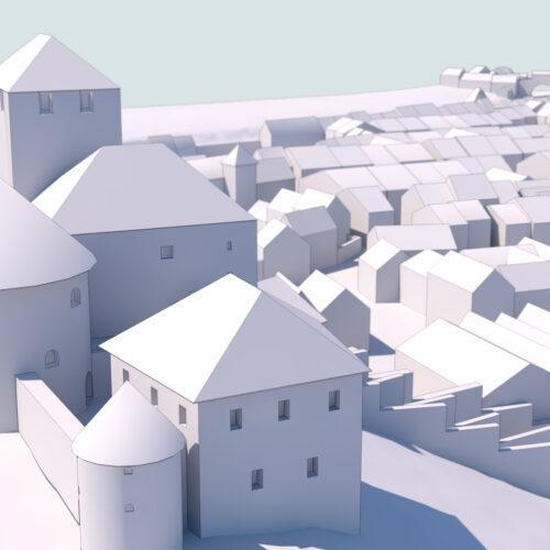 Impresión 3D de una ciudad medieval – Feldkich